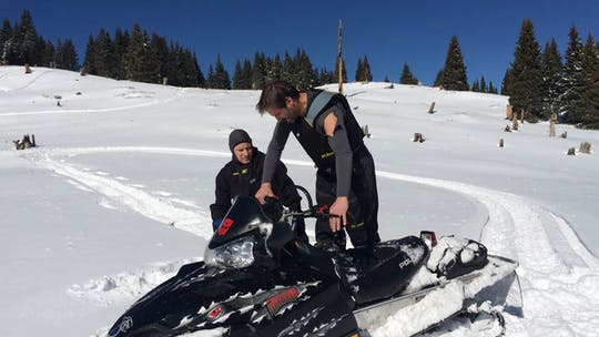 Instant Access to 1b. Rolling the sled onto one ski by BDB Software, powered by Intelivideo